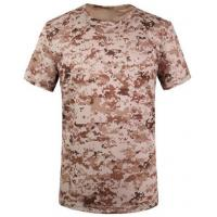 Quality Camouflage desert t-shirts army T-shirt military T-shirt Round Collar/POLO wholesale