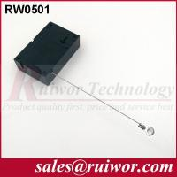 Quality Market Purchase Retractable Retail Security Cable With Ring Terminal 7.1x4.5x2.1 Cm wholesale