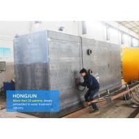 Cheap Integrated Sea Water Purification System , Seawater To Drinking Water Machine for sale