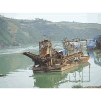 Quality small-scale chain bucket type gold dredge wholesale