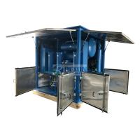 Quality Water Proof Type Vacuum Processing Transformer Oil Purifier Dewater and Degas from Oil wholesale