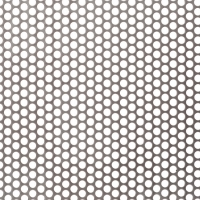 1.2mm 0.9mm Perforated Metal Wire Mesh Mild Steel Cold Rolled Sieve Mesh Sheets for sale