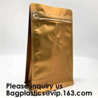 Quality Pack Packaging Reusable Aluminium Foil Zip Lock Stand Up Food Pouches Bags with Tear Notch for Food Storage, bagease wholesale