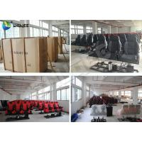 Quality Customized Color Pneumatic 4D Cinema Equipment Seats Left Right wholesale