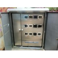China Double Layers Door Electricity Meter Cabinets on sale
