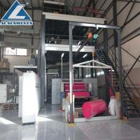 Quality High Speed S Sigle Beam Non Woven Making Machine For shoe covers wholesale