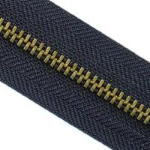 Quality roll black jack zipper wholesale