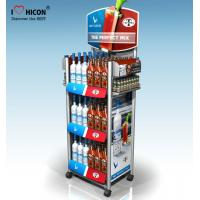 Quality Within Budget Solution Metal Display Racks On Wheels Freestanding For Retail Store wholesale