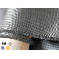 Cheap Plain Weave Silver Plated Fabric 3K 240g Carbon Fiber Fabric For Surface Decoration for sale