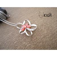Quality High quality guarantee Star sterling silver gemstone pendant with zircon W-VB993 wholesale