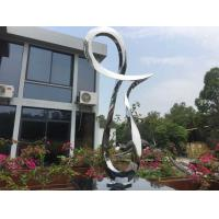 Quality Artificial Style Stainless Steel Sculpture Outside Garden Statues For Art Decoration wholesale