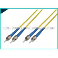 Buy cheap LC - LC Simplex Fiber Optic Patch Cables Single Mode 1.6mm LSZH Jacket Material from wholesalers