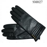 Quality Ladies sheep genuine leather gloves high level SM027 lady leather glove wholesale