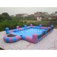 Quality Water Walking Ball Inflatable Water Pool With Platform wholesale