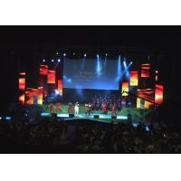 China Small pixel pitch Full Color Indoor LED Video Wall P3 P4 for Club / Live show , ROHS UL on sale