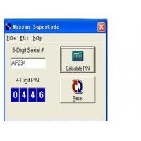 Quality Nissan Super Code Software, Nissan Pin Code Calculator For Programming Keys wholesale