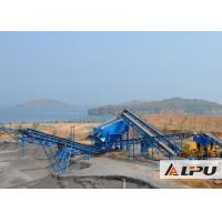 China Primary And Secondary Stone Crushing Plant / Gold Crushing Equipment on sale