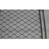China Custom Size Stair Barrier Decorative Nets Stainless Steel High Durability Heat Resisting on sale