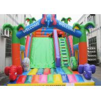 Quality Customized Inflatable Castle Slide CE Certified Children Favourite Playing Game wholesale