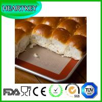 Quality Fiberglass+Silicone Material Customized Non-Stick Silicone Baking Mat Extra Large wholesale