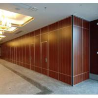 China Sound Proof Portable Sliding Partition Walls Single Or Double Roller on sale