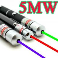 Quality Green Red Blue Multicolor Laser Pointer Pen Beam Light With AAA Battery wholesale