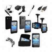 China 11-item Accessory Bundle for HTC Inspire 4G, Desire G10 Car Holder Mount Kit, Leather Charger Case on sale