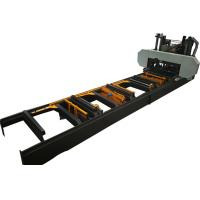 Buy cheap Large Horizontal Band Saw Wood Portable Sawmill For Sale Full Automatic Big Sawmill from wholesalers