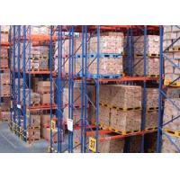 Cheap Logistic equipment heavy duty storage double deep pallet racks for sale