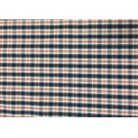 Quality Plaid Awning / Bedding / Curtain Custom Printed Fabrics 110-130gsm wholesale