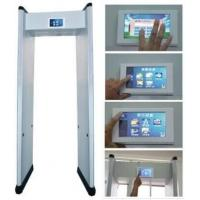 Quality ABNM-600LCDTS 6 detection zonesLCD Touch Screen Walk Through Metal Detector wholesale