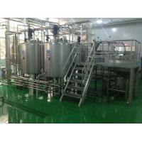China Wiped Film Forced Circulation Double Effect Evaporator For Fruit Jam Concentration on sale