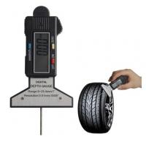 China Digital Tire Tread Depth Gauge 0~25.4mm, Ultrasonic Flaw Detector, Digital Depth Gauge on sale