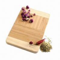 China Bamboo chopping/cutting board, vertical grain, eco-friendly material on sale