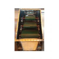 Quality Dry Type Roller Permanent Magnetic Separator With Adjustable Splitter And Vibratory Feeder wholesale