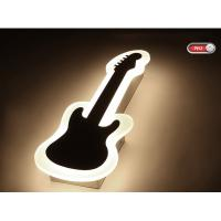 Guitar Acrylic 1000lm inside LED wall light /indoor led wall lamp for amusement park