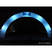 Amazing Giant Round lighting Inflatable Arch with Logo For Night Party, Event