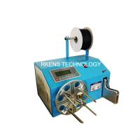 China Safe Wire Coil Binding Machine Copper Wire Winding Machine PLC Controlled on sale