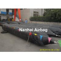 Quality Ship launching airbag Dia1.5mx15m length ,Natural rubber and 3 nylon fabric cords wholesale