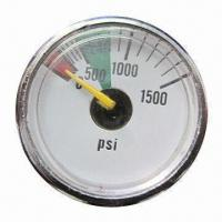 Buy cheap 25mm Mini Manometer with 0 to 6000psi Pressure from wholesalers
