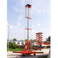 Cheap Portable Telescopic Hydraulic Lift Ladder , Vertical Mobile Hydraulic Lift Platform for sale