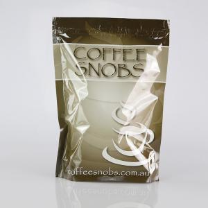 Quality Kraft Paper Tin Tie Foil Lined custom print Coffee plastic Bag with Valve wholesale