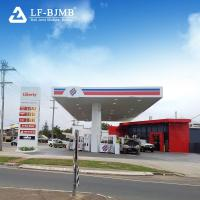 Quality China Supplier Factory Price Fabricated Steel Structure Gas/Petrol Station Structure Roof Design wholesale