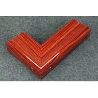 China Extruded Aluminum with Wood Grain Finish on sale
