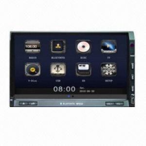 China 7-inch HD TFT Universal Car DVD, Car Radio with BT and Radio on sale