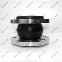 Quality EPDM NR NBR rubber DIN ANIS carbon steel flange type single sphere rubber expansion joint wholesale