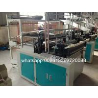 Quality HDPE / LDPE Plastic Bag Making Machine With Microcomputer Control wholesale