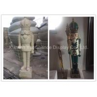 Quality Fiberglass Soldier H120cm Shop Display Christmas Decorations With Custom Color wholesale