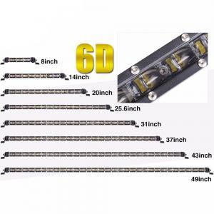 Quality Aluminum housing 32 Inch  Single Row super slim Off road Led light Bar   ATV Car Truck Light wholesale