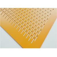 Quality Epoxy Resin Coating Architectural Perforated Metal Panels  Anodized Finished CNC Technology wholesale